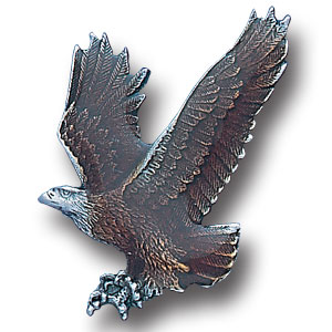 Pin - Free Form Eagle - Our fully cast and enameled eagle pin features exceptional detail with a hand enameled finish.