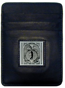 Golf Money Clip/Cardholder - Golfer - Our Golf Executive Money Clip/Card Holder is made of high quality fine grain leather with a sculpted Golfer emblem on the front panel. Features four pockets and a money clip on back.This money clip cardholder is a great product for that golf expert or golf fan ! Check out all our other great NFL, NCAA, MLB ,NHL product line up. Thank you for shopping Crazed Out Sports!!