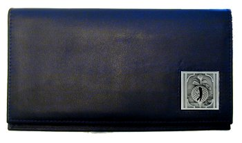 Golf Deluxe Leather Checkbook Cover - Golfer - Our Golf Deluxe Checkbook Cover is made of high quality leather and includes a card holder, clear ID window, and inside zipper pocket for added storage. Golfer emblem is sculpted and enameled with fine detail.This Golf deluxe leather checkbook is a great product for that golf expert or golf fan ! Check out all our other great NFL, NCAA, MLB ,NHL product line up. Thank you for shopping Crazed Out Sports!!