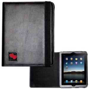 Heart iPad Case - This classy case fits the popular iPads and features a metal emblem.