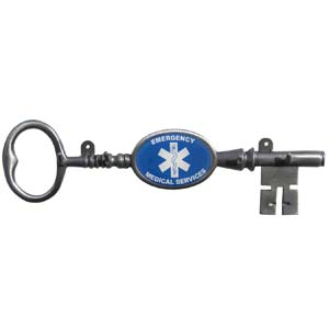 EMS Wall Key Chain Holder - Our wall mounted key holder has 4 hooks to hang your keys from and features the Army logo.