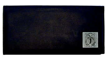 Golf Executive Leather Checkbook Cover - Golfer - Our Golf Executive Checkbook Covers are made of fine grain high quality leather with a sculpted Golfer emblem featured on the front panel. This Golf Executive Leather Checkbook Cover is a great product for that golf expert or golf fan ! Check out all our other great NFL, NCAA, MLB ,NHL product line up. Thank you for shopping Crazed Out Sports!!