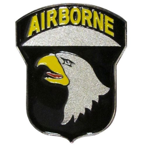 Airborne Eagle Hitch Cover Class III - Our Army hitch cover is a durable and attractive way to show off your military pride. The hitch fits a class II and III hitch receiver.