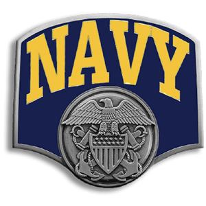 "Navy Hitch Cover - Our Navy Hitch Cover is a durable and attractive way to show off your school spirit. The hitch fits a 2"" hitch receiver."