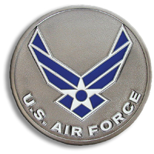 "Air Force Hitch Cover - Our durable hitch covers are a great way to off your individual style. The hitch fits a 2"" hitch receiver."