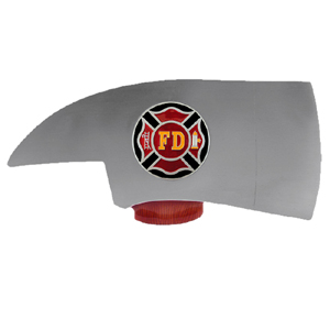 "Firefighter Hitch Cover - Our durable hitch covers are a great way to off your individual style. The hitch fits a 2"" hitch receiver."