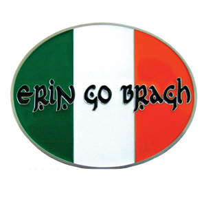 "Erin Go Bragh Hitch Cover - Our durable hitch covers are a great way to off your individual style. The hitch fits a 2"" hitch receiver."