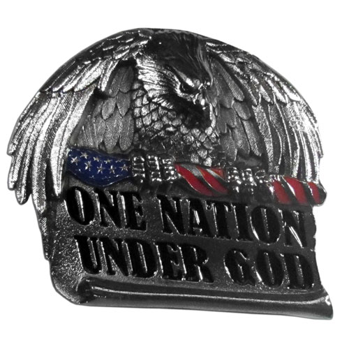 "One Nation Hitch Cover - Our durable hitch covers are a great way to off your individual style. The hitch fits a 2"" hitch receiver."