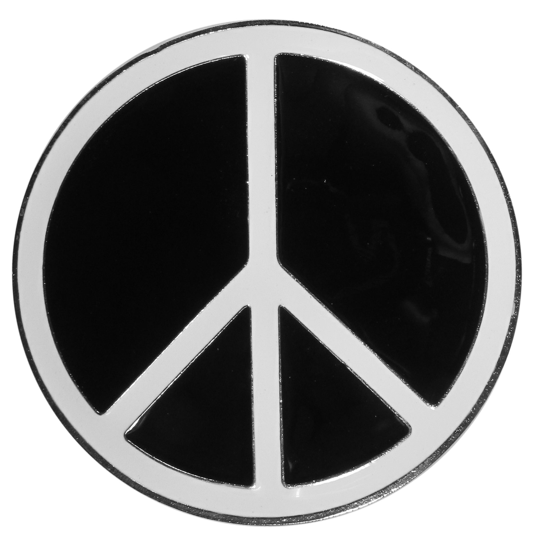 "Peace Sign Hitch Cover - ""Our durable hitch covers are a great way to off your individual style. The hitch fits a 2"""" hitch receiver."""