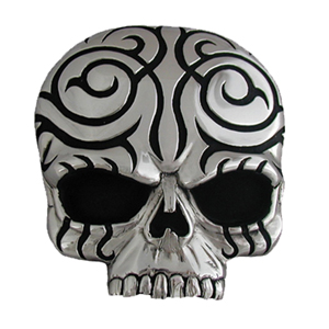 "Skull Hitch Cover - Our durable hitch covers are a great way to off your individual style. The hitch fits a 2"" hitch receiver."