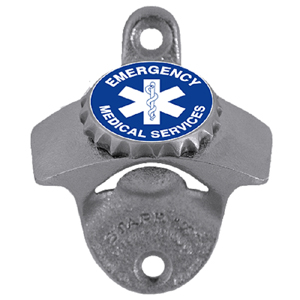 EMS Wall Bottle Opener - Our sturdy wall mounted bottle opener is a great addition for your deck, garage or bar to show off your school spirit.