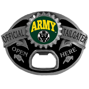 Army Buckle - Show off your pride with our sculpted and enameled Army buckle.