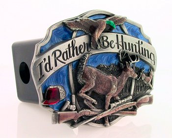 Trailer Hitch - Hunting - Our finely crafted three-dimensional trailer hitch covers are hand enameled and come in many styles.
