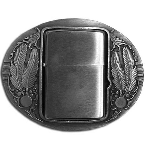 Eagle Zippo Lighter Buckle - Finely sculpted and intricately designed belt buckle. Our unique designs often become collector's items.