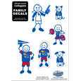 Small Family Decal Set