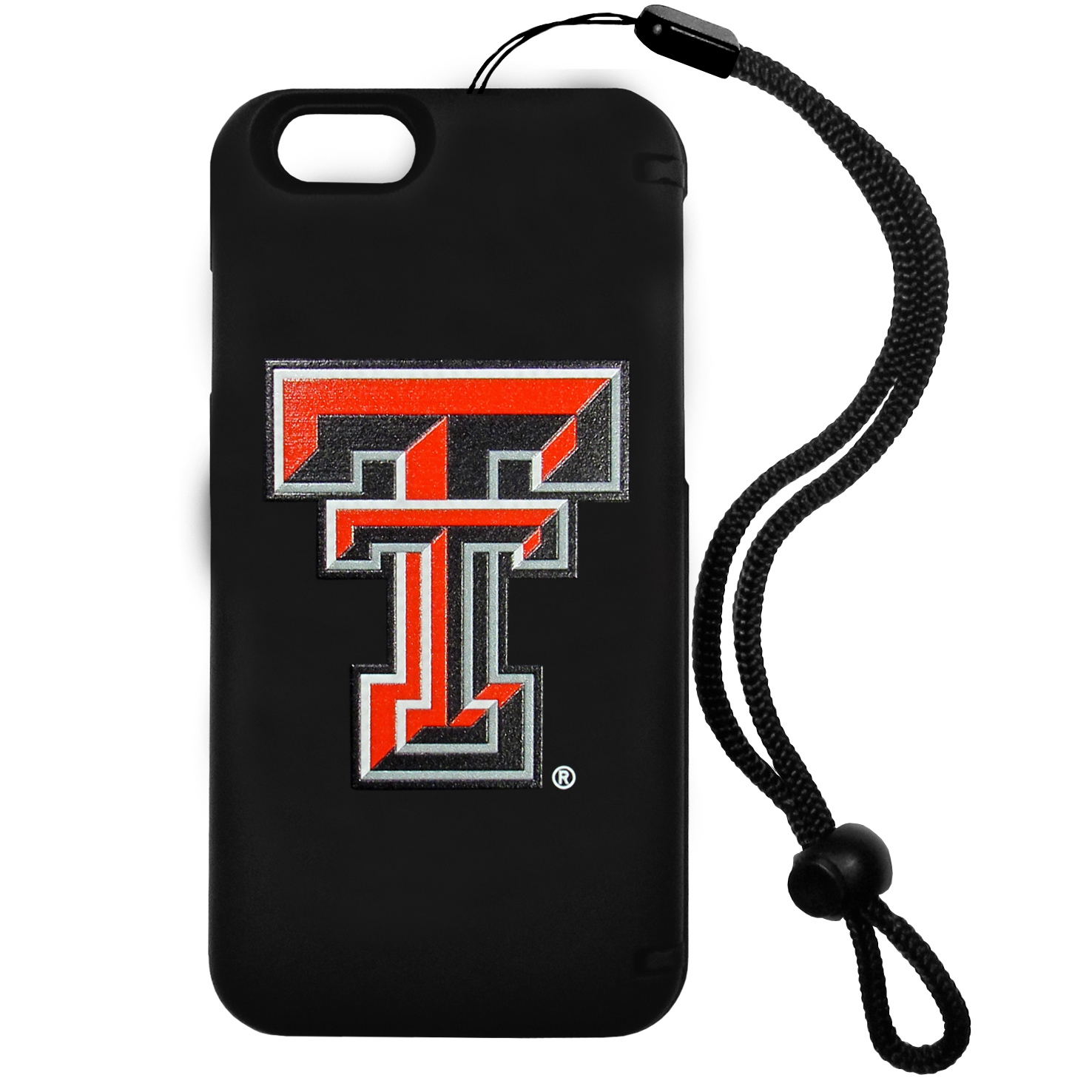 Texas Tech Raiders iPhone 6 Everything Case - This case really does have everything but the kitchen sink! The hidden compartment lets you keep your cards, money and tickets to the big game safe and secure and has a compact mirror so you can make sure your game face is ready to go. It also comes with a kickstand to make chatting and watching videos a breeze. The wrist strap allows you to travel with ease with your everything case. If that's not enough, it also comes with the Texas Tech Raiders logo printed in expert detail on the front.
