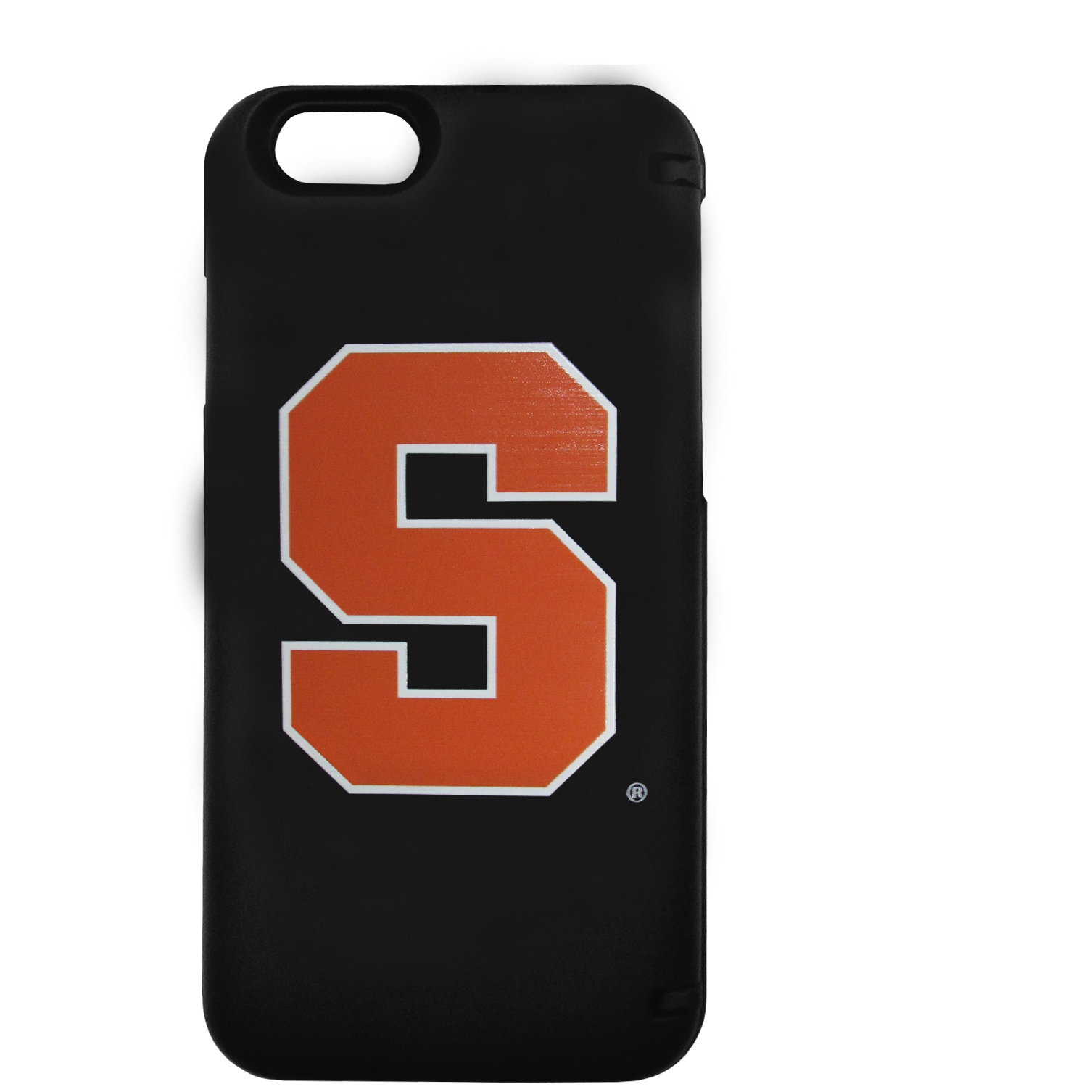 Syracuse Orange iPhone 6 Everything Case - This case really does have everything but the kitchen sink! The hidden compartment lets you keep your cards, money and tickets to the big game safe and secure and has a compact mirror so you can make sure your game face is ready to go. It also comes with a kickstand to make chatting and watching videos a breeze. The wrist strap allows you to travel with ease with your everything case. If that's not enough, it also comes with the Syracuse Orange logo printed in expert detail on the front.