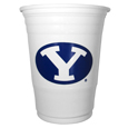 BYU Cougars Plastic Game Day Cups