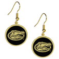 College Gold Tone Earrings