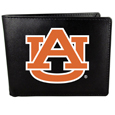 College Leather Bi-fold Wallet, Large Logo