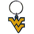 W. Virginia Mountaineers Key Chains