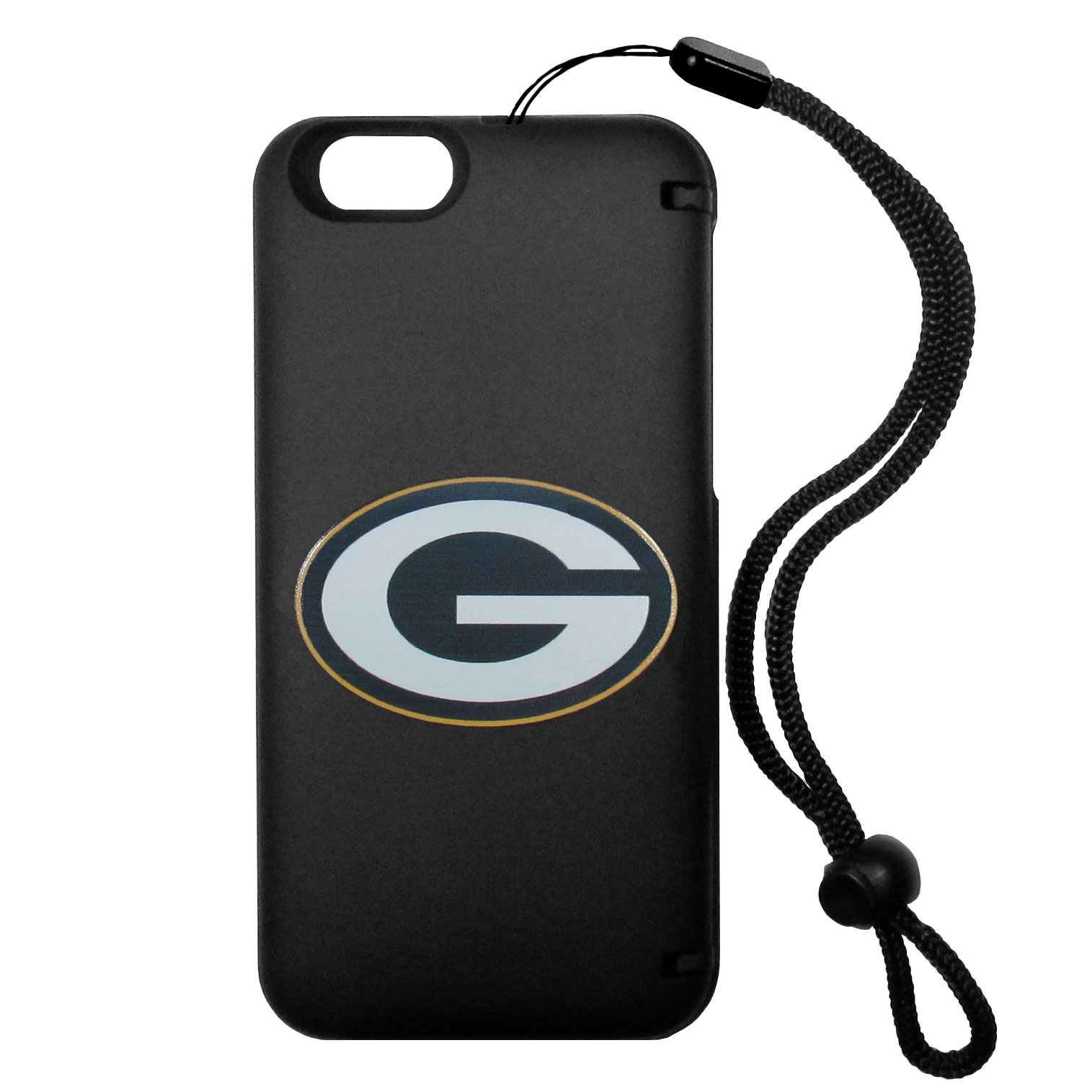 Green Bay Packers iPhone 6 Plus Everything Case - This case really does have everything but the kitchen sink! The hidden compartment lets you keep your cards, money and tickets to the big game safe and secure and has a compact mirror so you can make sure your game face is ready to go. It also comes with a kickstand to make chatting and watching videos a breeze. The wrist strap allows you to travel with ease with your everything case. If that's not enough, it also comes with the Green Bay Packers logo printed in expert detail on the front.
