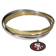 NFL Tri-color Bangle Bracelet