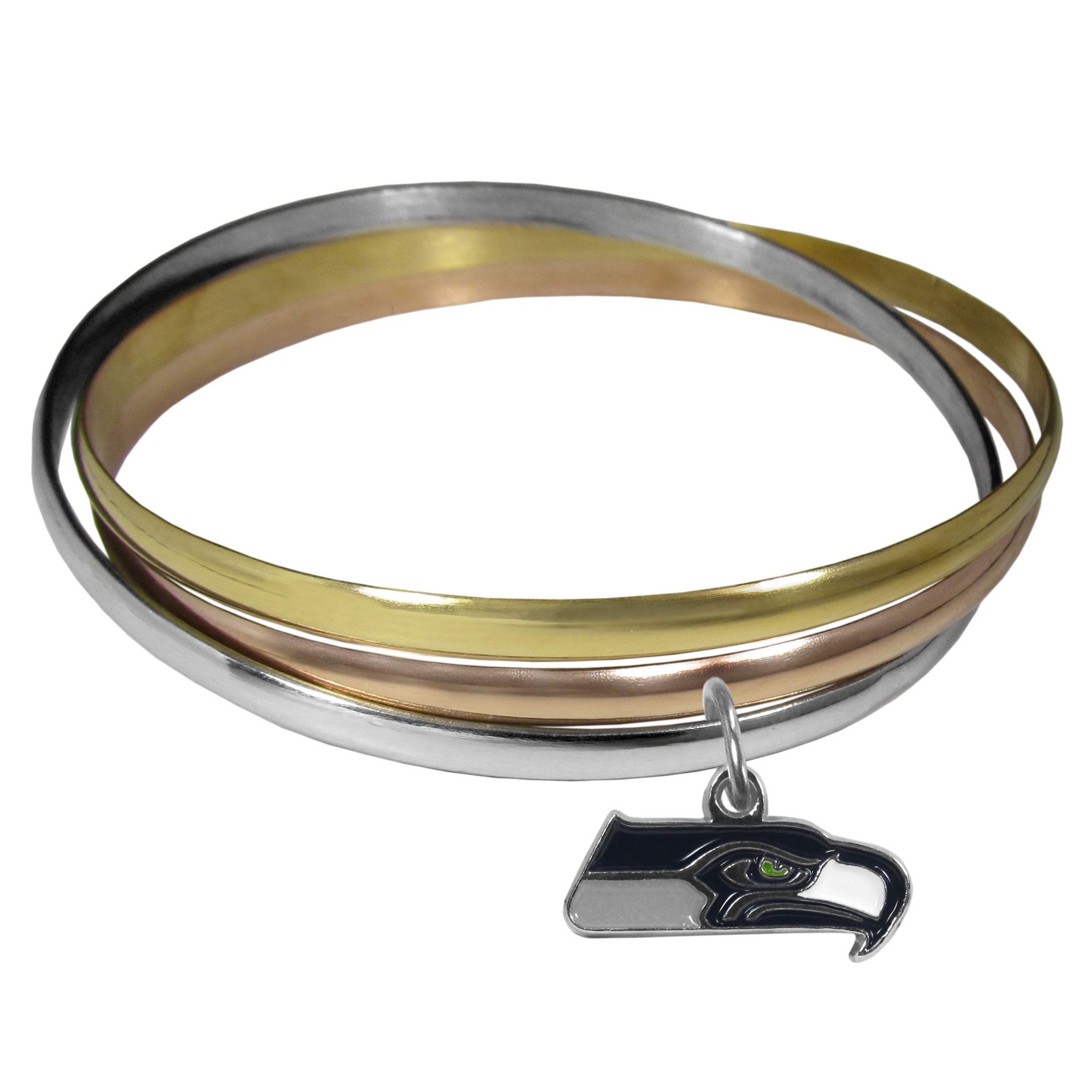 Tri-color Bangle Bracelet