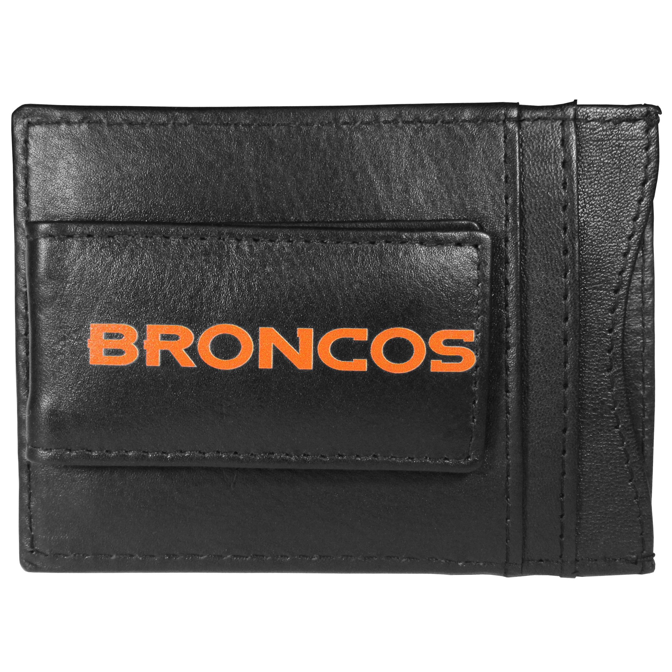 Logo Leather Cash and Cardholder