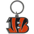Chrome & Enameled Key Chains