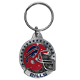 NFL Carved Metal Key Chain