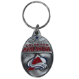 Carved Metal Key Chain