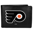 NHL® Leather Bi-fold Wallet, Large Logo