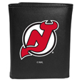 NHL® Leather Tri-fold Wallets, Large Logo