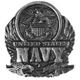 U.S. Navy Antiqued Lapel Pin