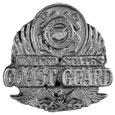 Coast Guard Antiqued Lapel Pin