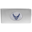 Air Force Brushed Metal Money Clip