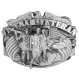 Vietnam Veteran Antiqued Belt Buckle