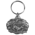 I'd Rather Be Hunting Antiqued Keyring