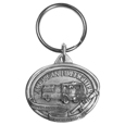 American Firefighter Antiqued Keyring