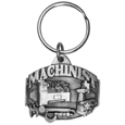 Machinist Antiqued Key Chain