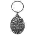 Dad Antiqued Keyring