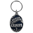 World's Greatest Grandpa Metal Key Chain