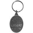 World's Greatest Grandma Antiqued Metal Key Chain
