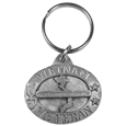 Vietnam Veteran Antiqued Keyring