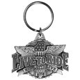 Live To Ride Antiqued Keyring